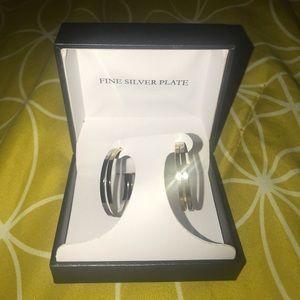 Jewelry - Fine Silver Plate Earrings
